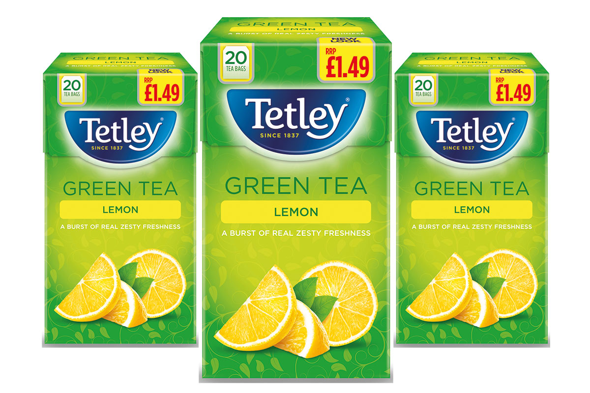 New Tetley Marvel Green tea in PMP £1.49