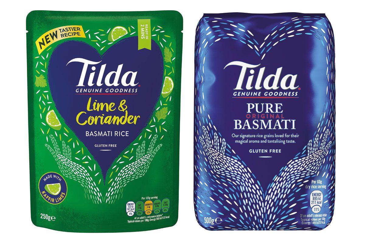 Tilda Lime Coriander and Pure Basmati rice