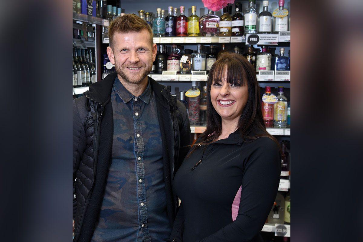 Ross Macpherson and Mandi Duncan