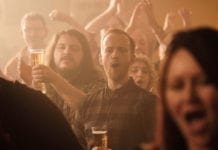 Still from new Strongbow TV ad