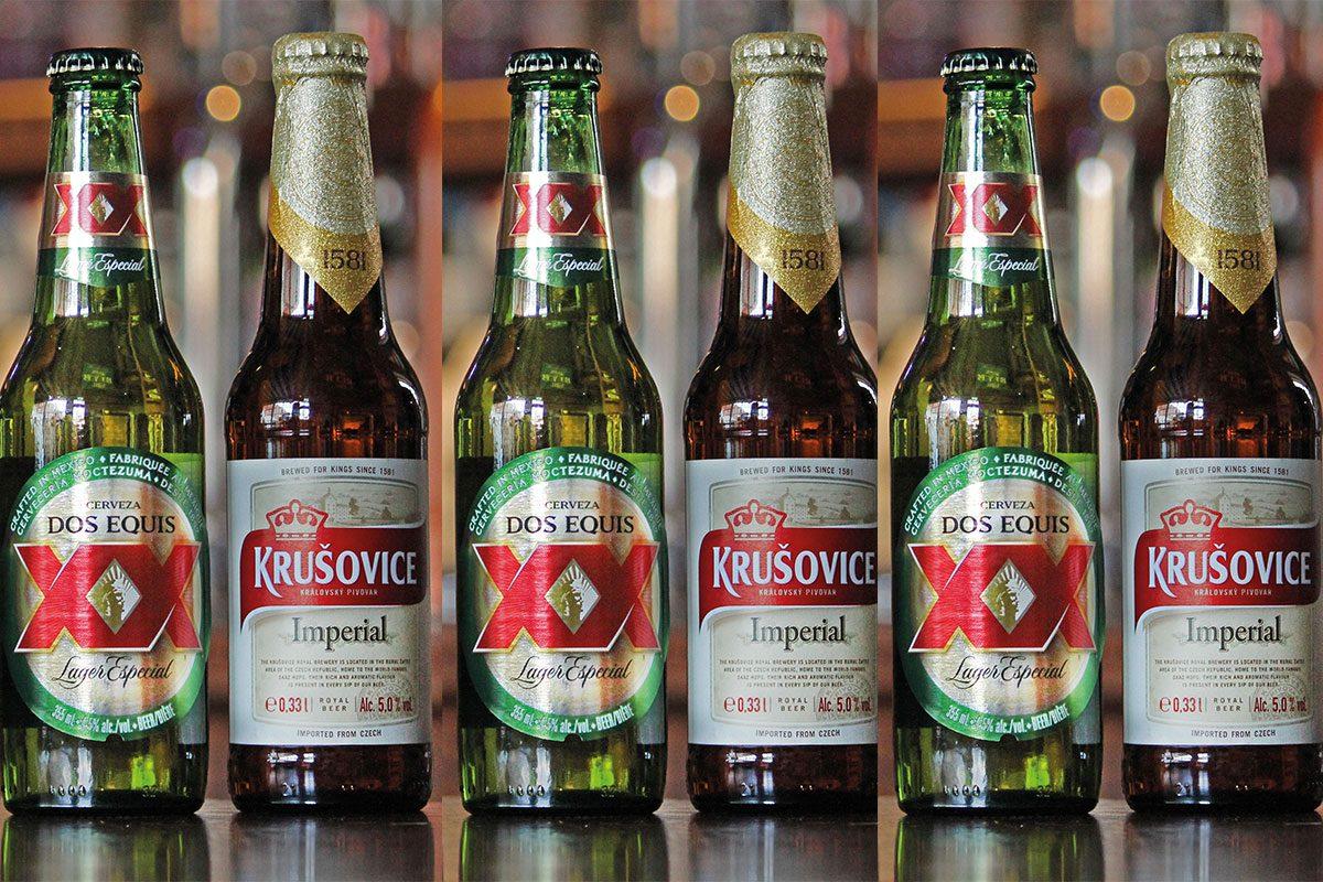 two-beer-bottles