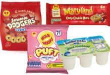 Snacks Jammie Dodgers, Hula Hoops Maryland Cookies Ambrosia Custard