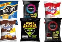Crisp packets