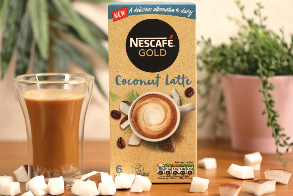 Nescafe coconut latte