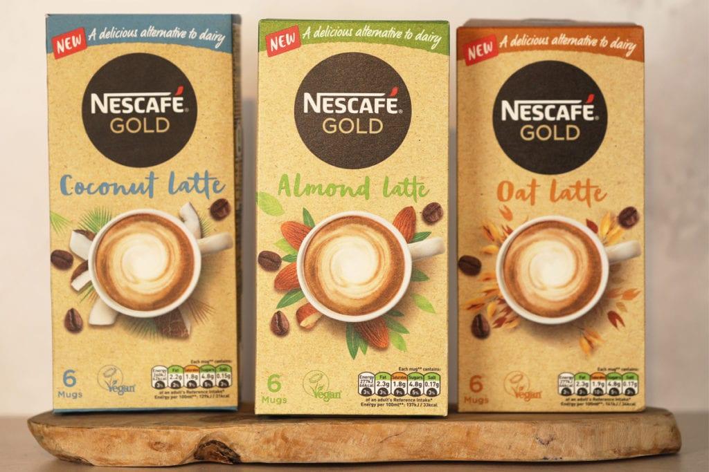 Nescafe latte packs