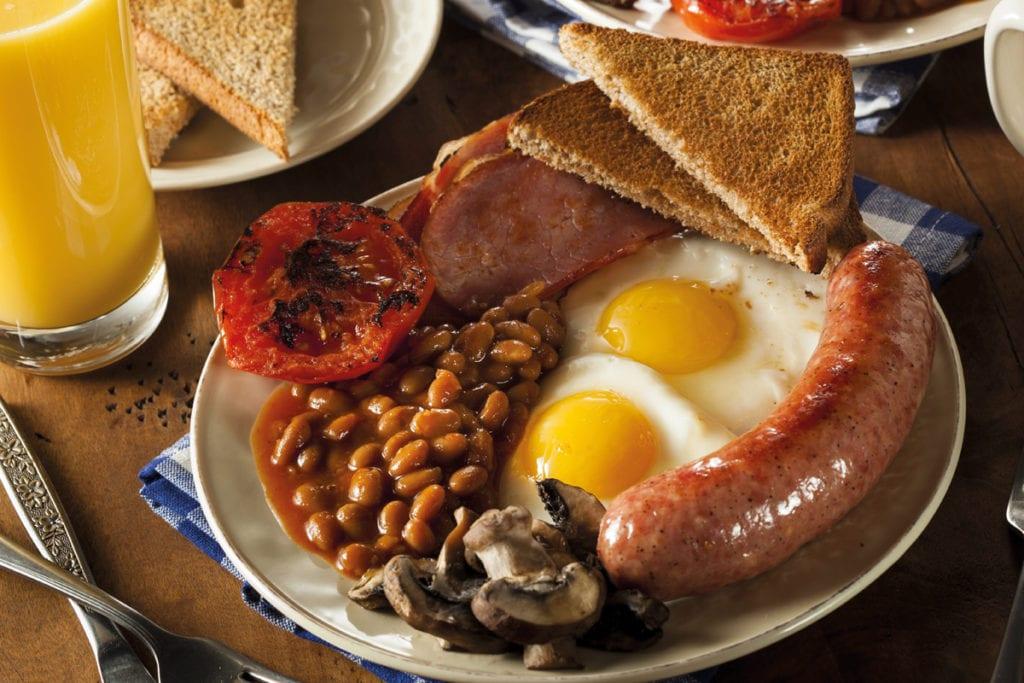 breakfast fry up