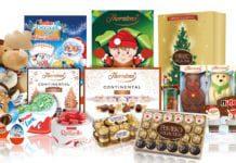 Ferrero's Christmas range spans Thorntons, Kinder, Nutella and Ferrero Rocher.