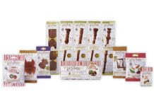 The Harry Potter range includes chocolate wands, gummy sweets and gift boxes.