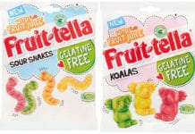 Fruitella snakes and koalas gelatine free