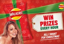 Mariah Carey Walkers Crisps