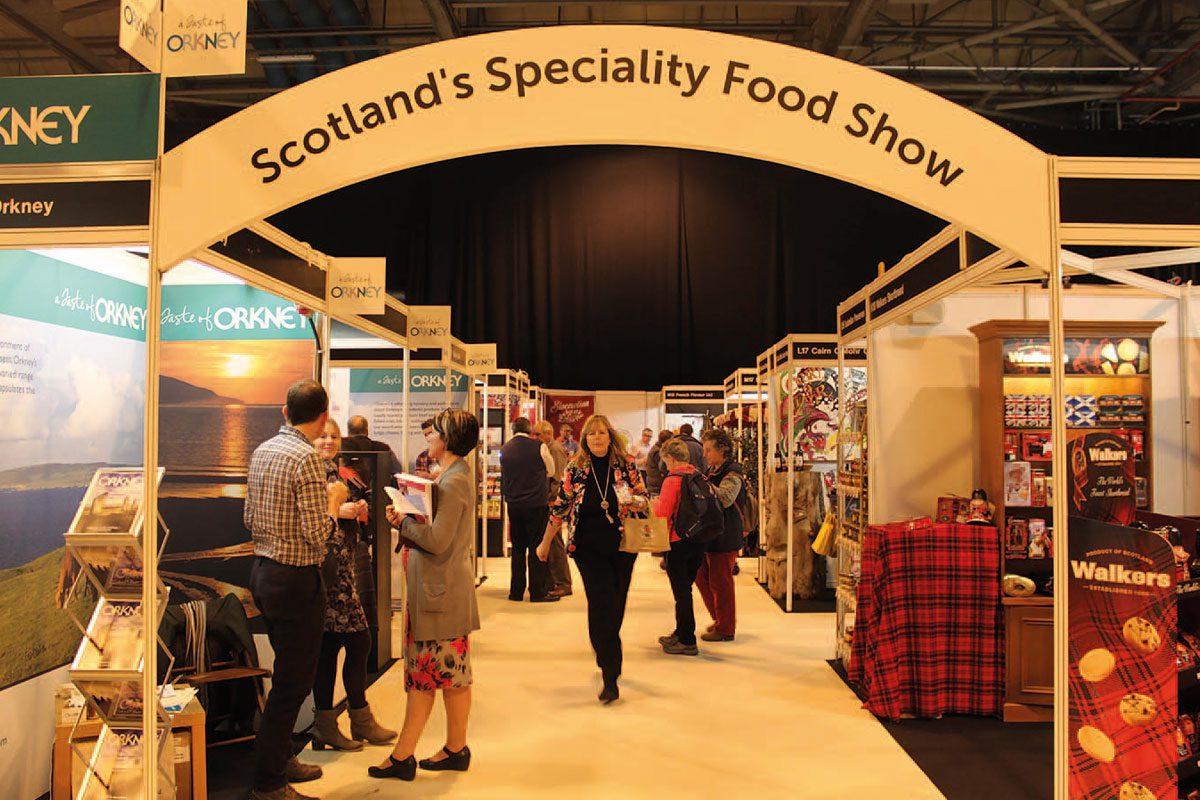 Scotlands speciality food show