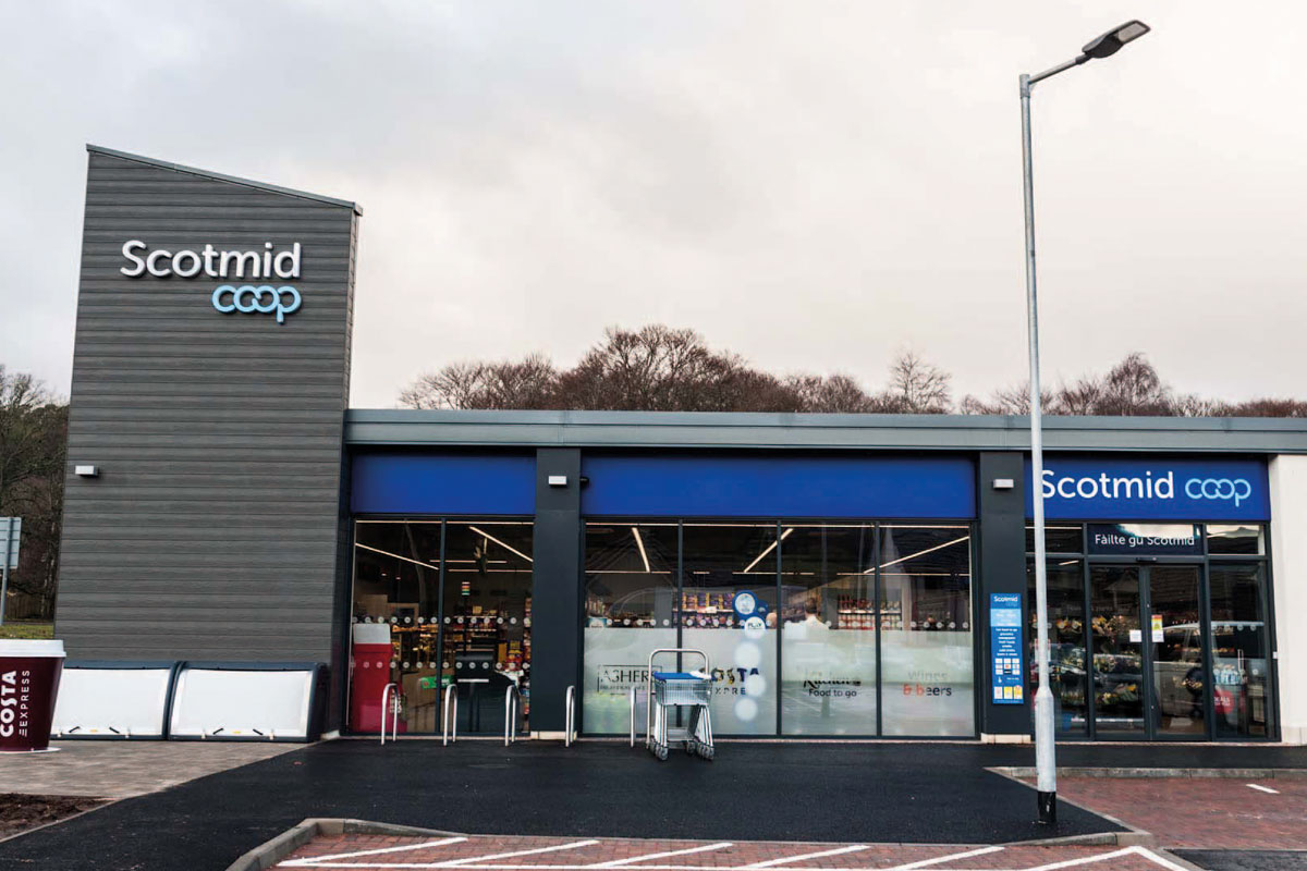 Scotmid's new Drumnadrochit store