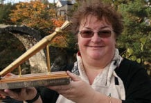 Lisa Williams, the 2019 World Porridge Making Champion.