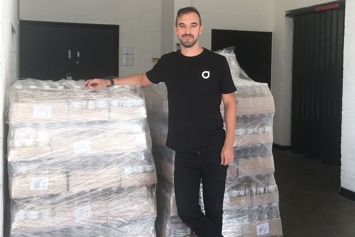 Kris Ingham donates stock to FareShare charity
