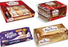 Mr Kipling and Cadbury Christmas snacks