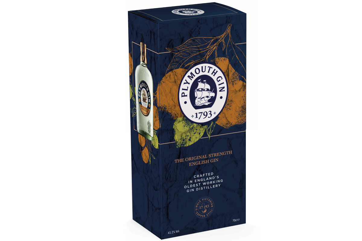 Plymouth Gin Gift Box