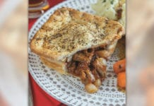 Fake steak and ale pie from Delice de France