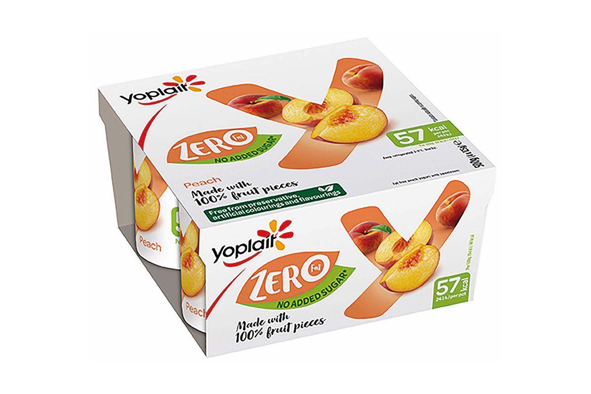 Yoplait zero sugar yogurt