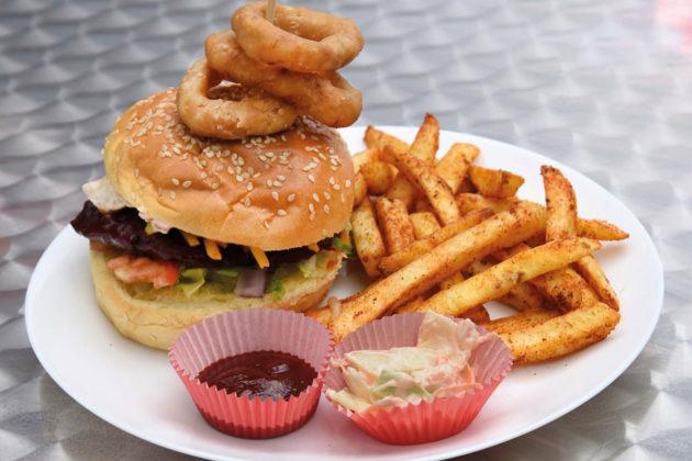 Bourtreehill store's popular Buckfast BBQ burger