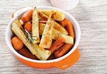 Orange Bowl Of Vegetables