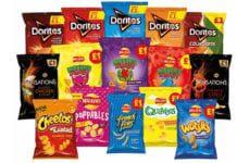 Walkers range of crisps
