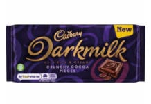 Cadbury darkmilk crunchy cocoa pieces