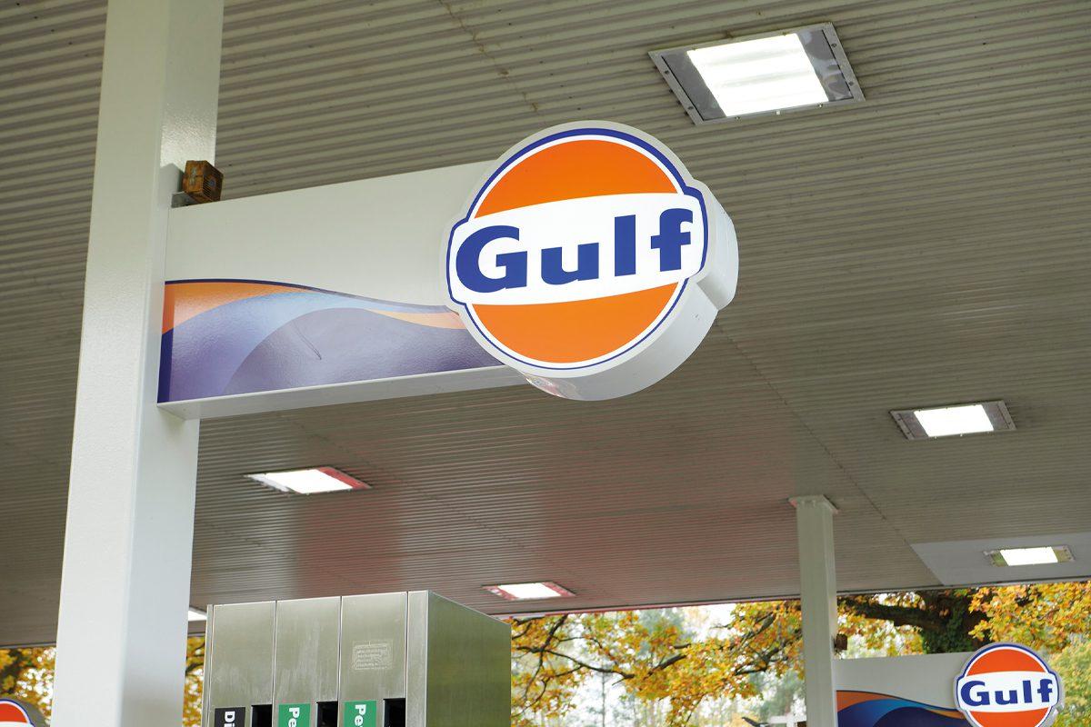 Gulf new livery