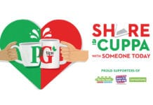 PG Tips heart and cups