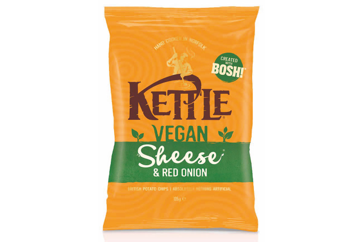 Vegan Flavour Cheese Crisps
