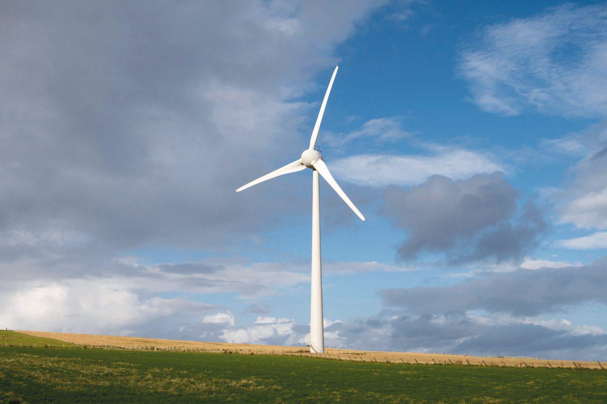 Wind Turbine photo AlanMorris/Shutterstock