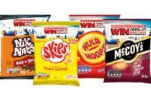 4 bags of crisps