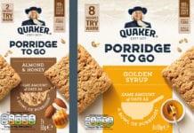 Quaker porridge to go