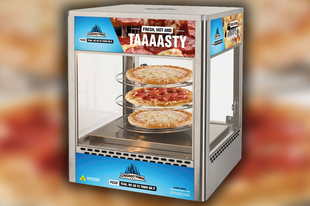 Rotating Pizza stand