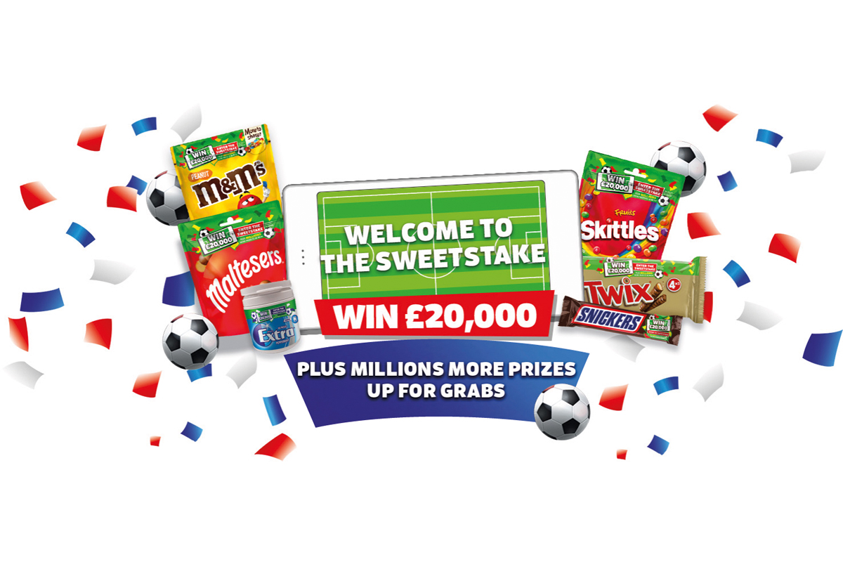 MARS Wrigley's Sweetstake on-pack promotion