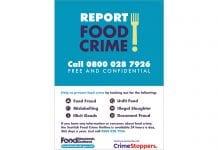 FSS Food Crime poster