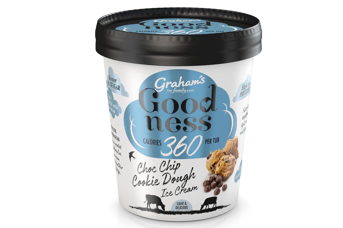 Graham's Cookie Dough Ice Cream