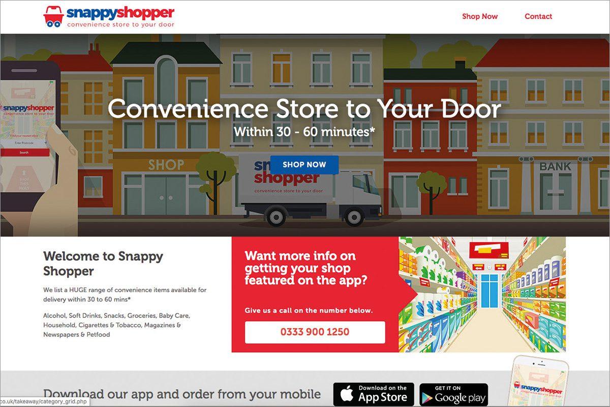 Snappy Shopper website