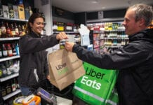 Online accounted for 10% of grocery sales in the four weeks to 18 April.