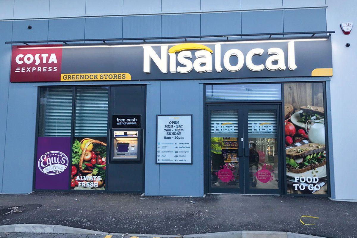 nisa-greenock-store-exterior