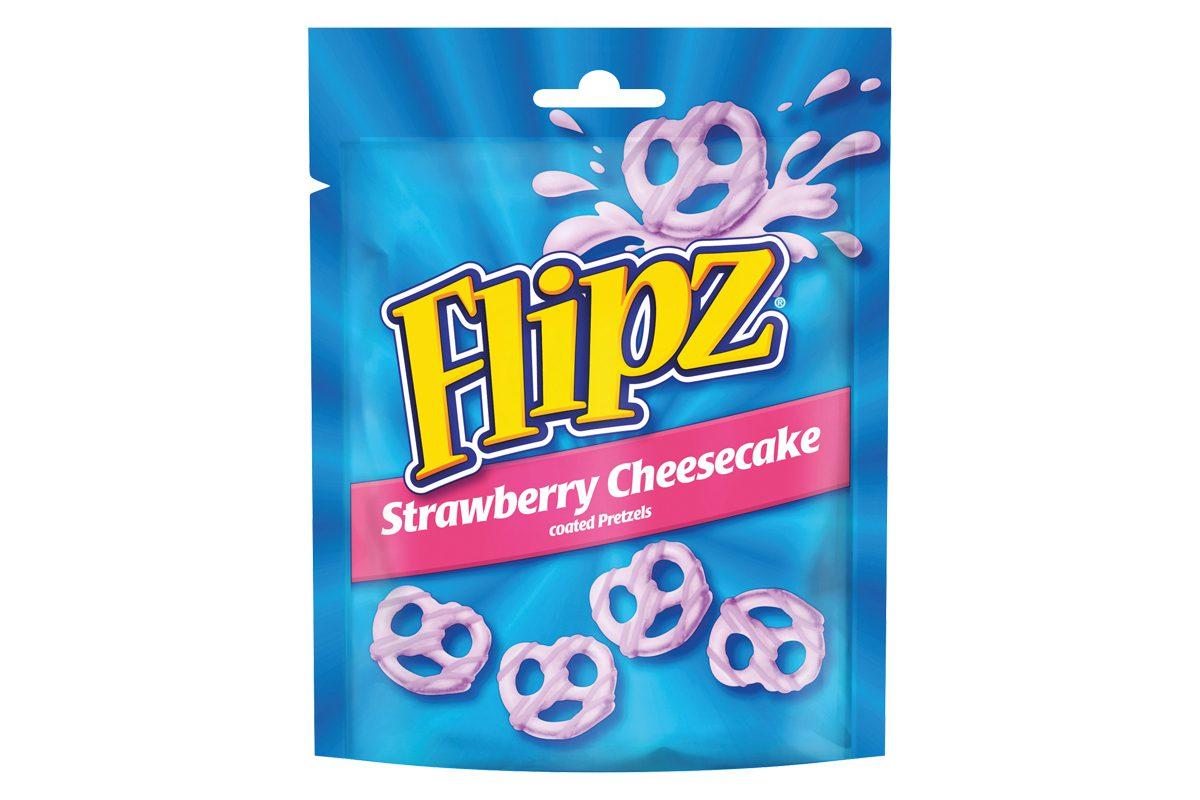 flipz pretzels strawberry cheesecake