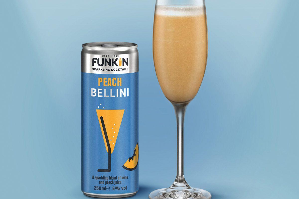 Funkin peach cocktail