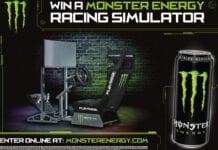 Monster racing simulator
