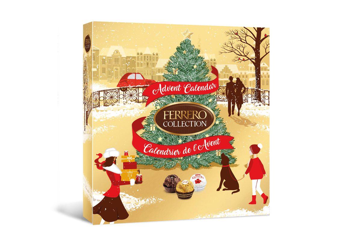 Ferrero advent calendar