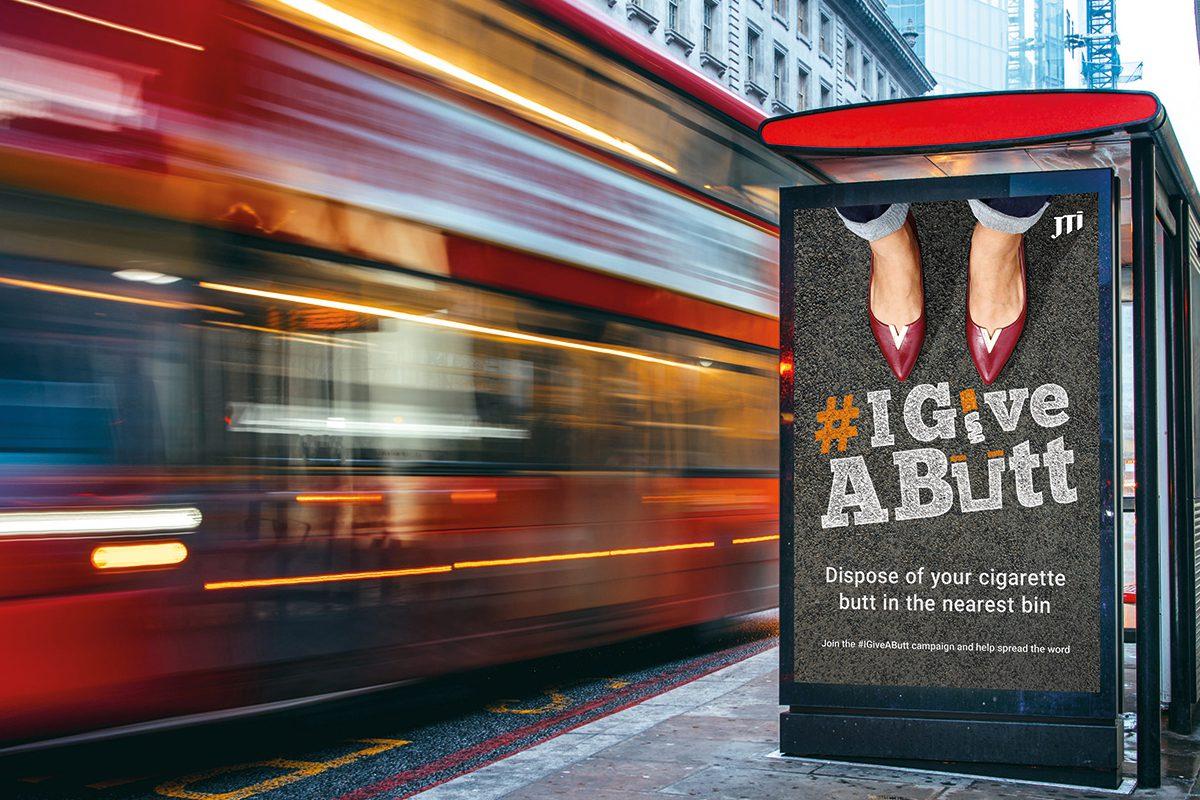 JTI #IgiveAButt campaign