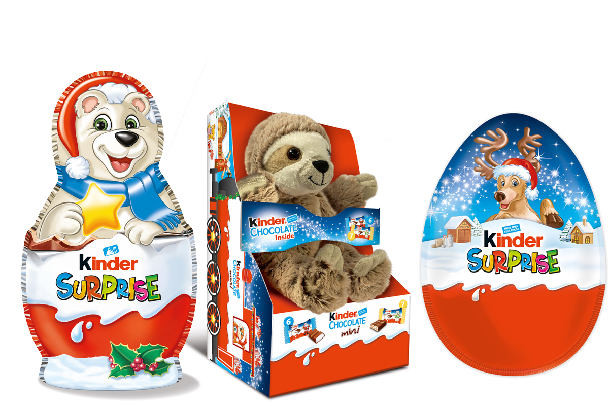 Kinder chocolate collection