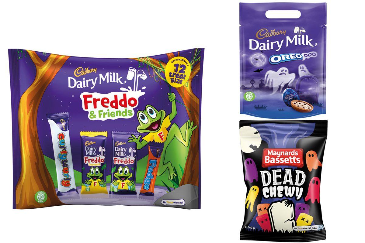 Mondelez Halloween packs