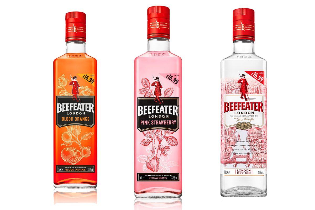 Beefeater Gin bottles