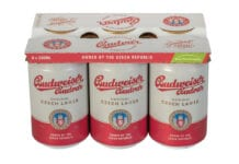 Budvar cans sustainable packaging