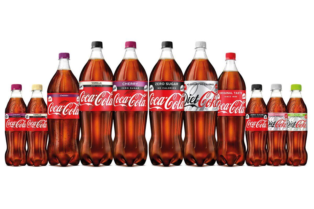 CCEP Coca Cola packs