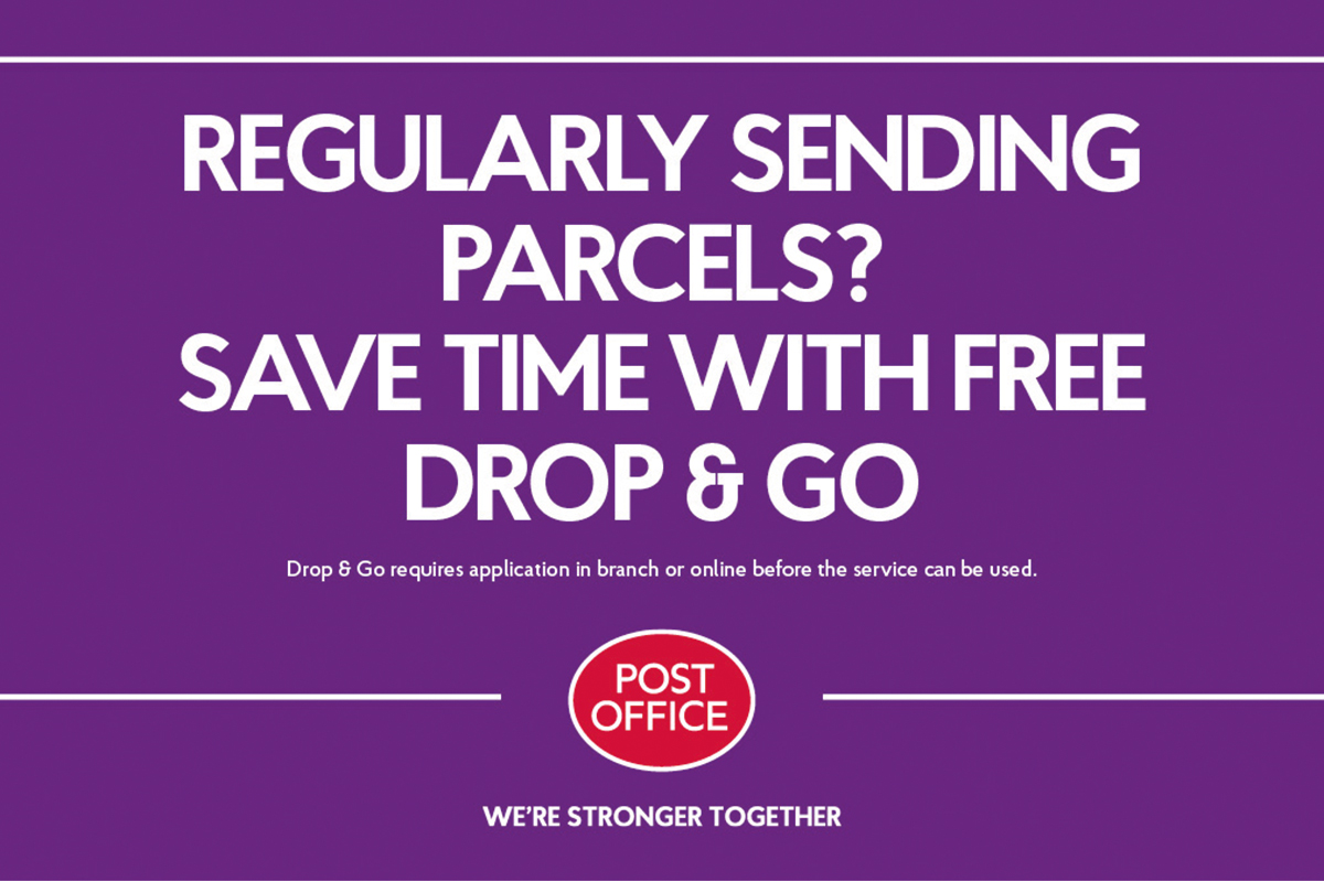 Post Office advert